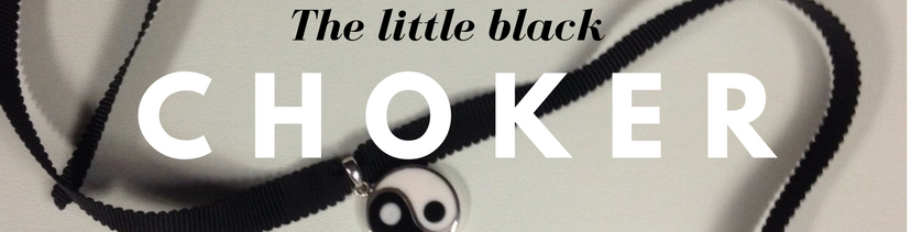 the LIttle Black Choker