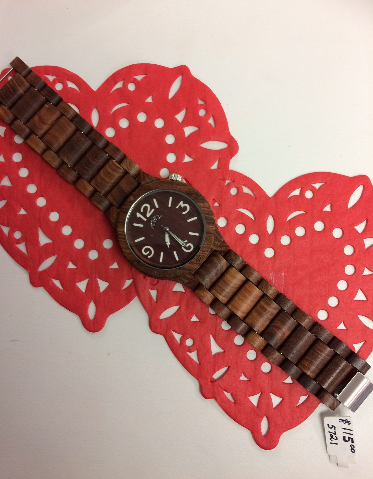 Mens Wooden Watch Valentines Day At Westdale Jewellers