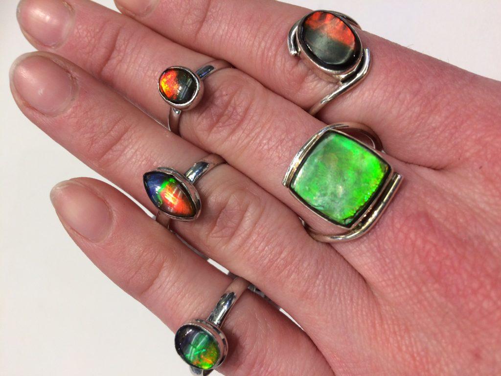 Ammonite Rings #WestdaleJewellers