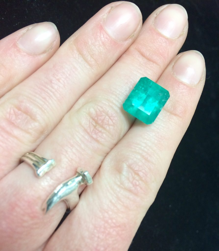 large emerald may birthstone