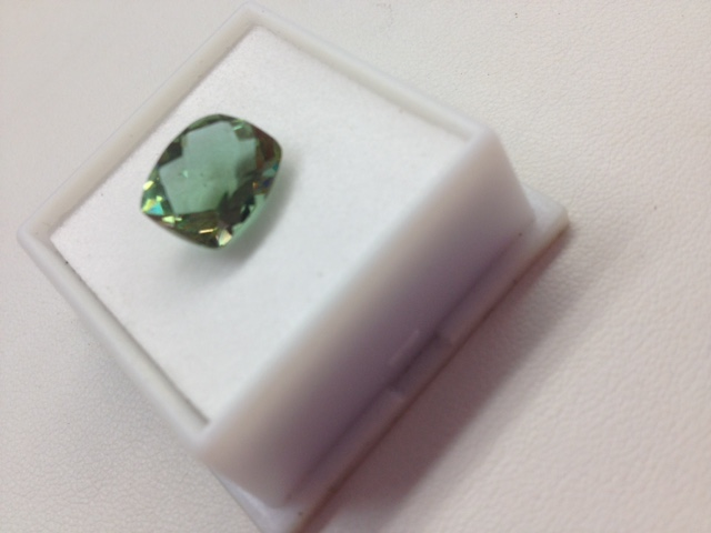 Alexandrite gemstone green