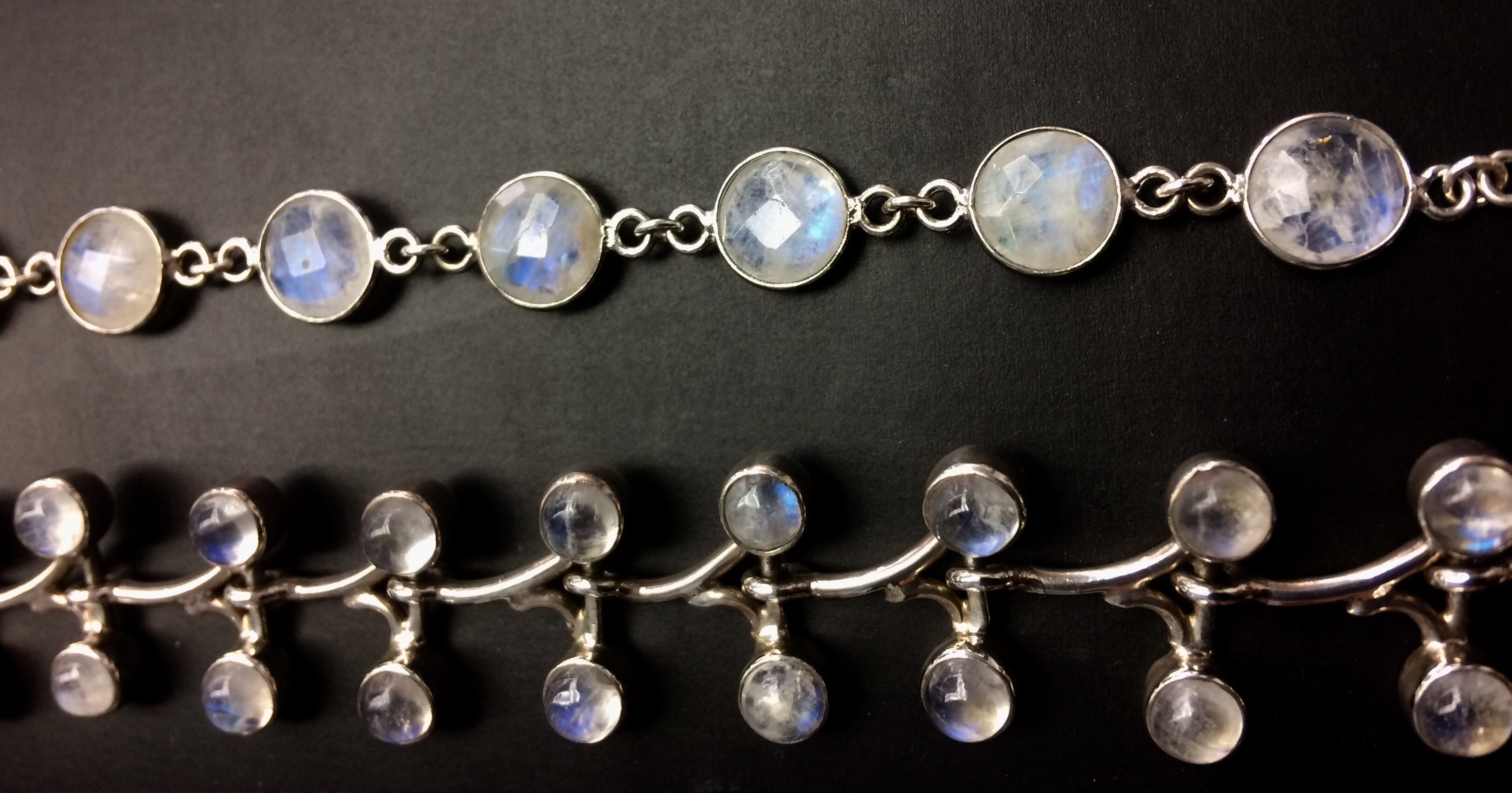 june birthstone moonstone bracelets